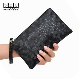 women cell phone clutch NZ - Women Clutch Bags Mini Stone Pattern Women Handbags 2017 Ladies Small Wallet Girls Phone Bag Candy Color Bolsa Evening Clutches