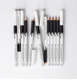 fashion liner 2019 - Wholesale Fashion Cute Cosmetics 12PC Soft White Eyeliner Pencil Eye Liner Waterproof Long Lasting Eye Brighten cheap fa