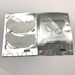 Lint Free Cotton NZ - Seashine Eyelash Factory Eye Patches For Eyelash Extension Pre Made Fans Eye Gel Pads Hydrogel Collagen eye masks Lint Free Under