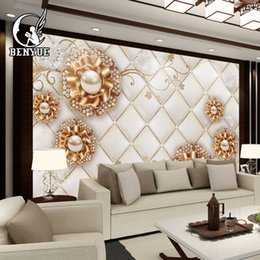 Floral Printing Paper Australia - modern custom Mural 3d wallpaper photo flower wall paper fresco rolls with custom printing for home decoration wallcovering