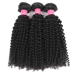 Chinese  8A Peruvian Virgin Hair Deep Curly 3 Bundles Unprocessed Human hair Weaves Cheap Braziian Malaysian Indian Curly Hair Extension manufacturers