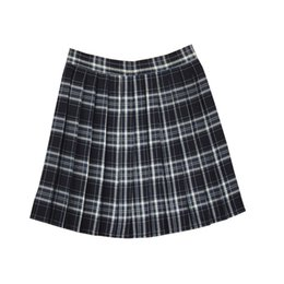 plaid skirt xs Australia - New Student Class Uniform Large Size XS--4XL pleated skirts College Wind High Waist Plaid Tennis Skirt For Girls