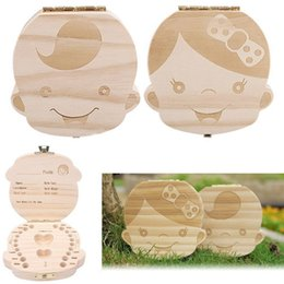 Discount personalized baby gifts 2018 personalized baby gifts on 1131253cm kids baby wooden storage box organizer boys girls milk teeth save wood box trave kit english spanish version children gift hot personalized negle Images