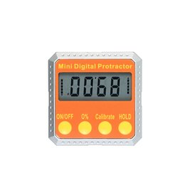 tool finder UK - Mini Angle Ruler Digital Protractor Angle Finder Angle Measuring tool with Embedded Magnets