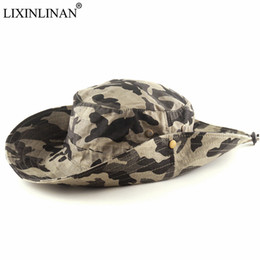 $enCountryForm.capitalKeyWord UK - LIXINLINAN Camouflage Hunting Climbing Fishing cap Army fans tactical round-brimmed hat Ben Nepal cap Outdoor summer sun hat