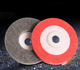 $enCountryForm.capitalKeyWord NZ - 100mm Fiber Wheel Polishing Abrasive Nylon Non-woven For Manual and Automatic Grinding Strong Cutting Force 100pcs lot SN1428