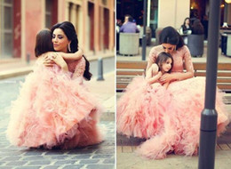 $enCountryForm.capitalKeyWord NZ - Said Mhamad Lace Appliques Flowers Girls Dresses for Weddings Pageant Dress Ball Gown 2018 TuTu Cheap Gowns Pink Layers Dresses