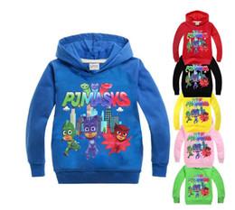 ca20143a14099 Garçons Filles MASQUES Hoodies Veste Manteau De Bande Dessinée Roupas  Enfants PJ T-shirt Complet