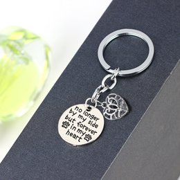 $enCountryForm.capitalKeyWord NZ - No Longer By My Side But Forever In My Heart Charms Keychian Dog Pet Keyring Family Friends Animals Lovers Key Chains Gifts