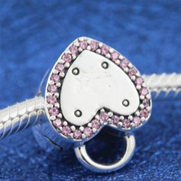 locking clips charm Australia - 2018 New 925 Sterling Lock Your Promise Clip Charm Bead Fits European Pandora Jewelry Bracelets Necklaces & PendantLove & Kisses