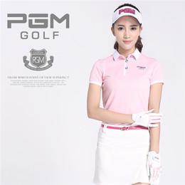 Ladies White Cotton Skirt NZ - New PGM Brand Women Golf Skirt Girl's Golf Clothing Solid Female Leisure Sport Skirt Short Dress for Lady Short Skirts