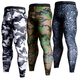 4ca8cdafa GYM Running Pants Tights Men Jogging Pants Brand Compression Fitness Men  Camo Sport Legging Bodybuilding Training Trousers