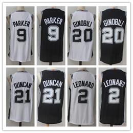 ... Authentic  new collection NCAA 2018 Men Elite 9 Tony Parker jersey 2  Kawhi Leonard 20 Manu Ginobili  best choice Wholesale Youth Nike San  Antonio Spurs ... 584e7b7aa