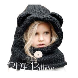 $enCountryForm.capitalKeyWord Australia - 1-7 Years Baby Girls Hats Handmade Kids Winter Hats Wrap Fox Scarf Caps Cute Autumn Children Wool Knitted Hats free shipping D18110601