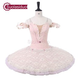 Women Pink Professional Stage Ballet Tutu Costumes Adult Classical Ballet  Dance Apperal Children Ballet Skirt Kids Dress 9effc108ff63