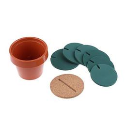 $enCountryForm.capitalKeyWord UK - 1Pcs Decoration Table Cup Cactus Novelty Coasters Poed Mat DIY