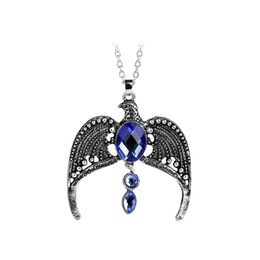 Chinese  The Deathly Hallows Ravenclaw Lost Diadem Horcrux Tiara Necklace Horcrux Crown Pendants for men women fashion jewelry manufacturers