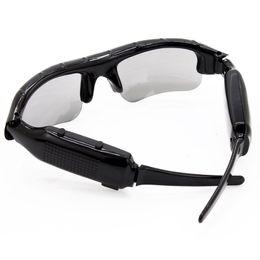 China Sunglasses Camera Digital Audio Video Recorder Portable Camera Smart Glasses For Driving Outdoor Sports DV DVR Recorder cheap video sunglasses suppliers