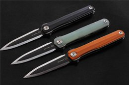 $enCountryForm.capitalKeyWord NZ - STEDEMON Studio C05 Tactical Folding Knife 14C28N Blade G10 Handle Hunting knife Outdoor Rescue EDC Tool Survival Pocket knives