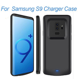 $enCountryForm.capitalKeyWord NZ - for Samsung Galaxy S9 plus Battery Case Portable Rechargeable Extended Charger Case For Samsung S9 Protective Battery Pack Charging Case
