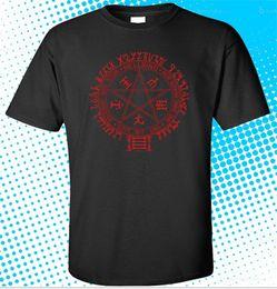 $enCountryForm.capitalKeyWord Canada - 2018 New Fashion New Hellsing Symbol Logo Anime Manga Men's Black T-Shirt Size S to 3XL Men's Shirts Men Clothes Novelty Cool