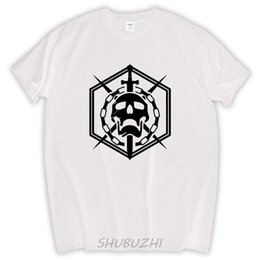 China Man Geek T Shirt Raid Skull Emblem 100% Coon Tops Man shubuzhi Plus Size T-Shirt For Men Black Tee On Sale Clothes supplier wholesale plus size clothing for men suppliers
