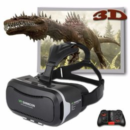 Virtual Reality Games For Android NZ - Shinecon VR Pro Version Virtual Reality 3D Glasses Headset Head Mount Google Cardboard Movie Game For 4.5-6.0 inch Phone +Remote