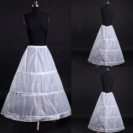 $enCountryForm.capitalKeyWord Australia - Top Sale A-Line White Long Dress Wedding Accessories Bride Gown Crinoline Petticoat Underskirt Bride Slips 2018
