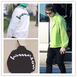 $enCountryForm.capitalKeyWord Canada - Box Logo x Cham Fashion Hooded Track Jacket Outwear Street Casual Windproof Spring Autumn Couple Coat Jacket HFYMJK092