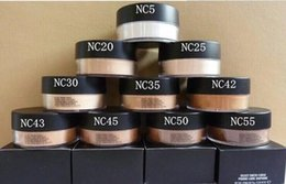 Number Blocks Australia - 6pcs Free shipping NEW MAKEUP NEW MINERALIZE POWDER ENGLISH NAME AND NUMBER 8g