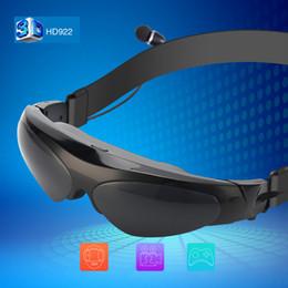 Lunettes vidéo R / AR Livraison gratuite !! Nouvelle arrivée 98 pouces 3D réalité virtuelle écran large Lunettes vidéo numériques Lunettes de soutien Support Connect IOSa ...