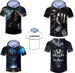 $enCountryForm.capitalKeyWord Canada - New Fashion Couples Men Women Unisex Hooded Tshirt Cool Skull 3D Print Casual Hoodies T-shirt T Shirt LM3