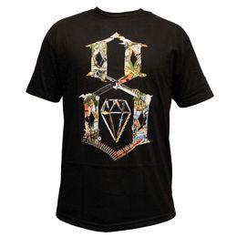Rebel8 Logo Collage T-Shirt Schwarz im Angebot