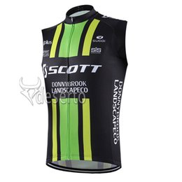 Scott Bikes Canada - SCOTT team Cycling Sleeveless jersey Vest Newest Cycling Hot Sale breathable and quick-drying mountain Bike Clothes U52934