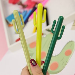 Stationery Australia - New Creative Cute Cactus Design Gel Pen Writing Supplies Fashion Gift Office Stationery