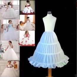 $enCountryForm.capitalKeyWord NZ - Hot Sale Little Flower Girl Dress 3-Hoop A-Line Bridal Accessories Crinoline Petticoat Underskirt Children PETTICOA 2018