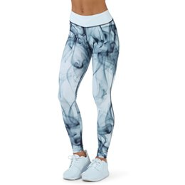 Black Pink Leggings Australia - New Fashion Sexy Women Print Sporting Leggings Yuga Pants High Waist Workout Elastic Skinny Slim Fitness Leggin Black Pink Blue