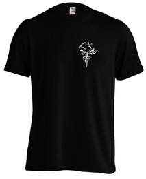Cosplay Fantasy Shipping UK - FF8 Griever Emblem Squall Cosplay Final Fantasy FFVIII T shirt Tee Sleeve Tee Men T-Shirt Free Shipping Top Tees