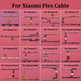 apple cable 4s 2019 - 1pcs Power On off switch side button Volume Flex Cable for Xiaomi 3 4 4S 4i 4C 5 5S Plus 5X 6 6X Note 2 Pro Max 2 Mix ch