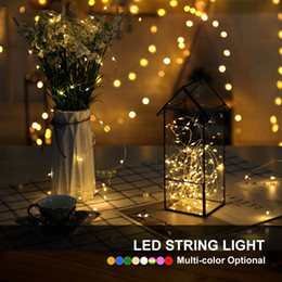 $enCountryForm.capitalKeyWord Australia - Led Fairy String Light 1M 2M 3M 4M 5m Battery Powered Copper Lights For Christmas Holiday Wedding Party Decoration with Battery