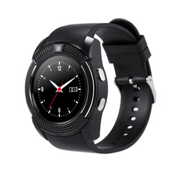 $enCountryForm.capitalKeyWord Australia - V8 Smart Watch 1.22 inch With Sim Card Bluetooth TF Slot suitable for iPhone Android Smartwatch Camera WristWatch