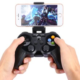 Discount ipega games - Ipega Wireless Gamepad Bluetooth Game Controller Pad Gaming Console with Bracket for Android iOS PhoneTablet TV PC Smart