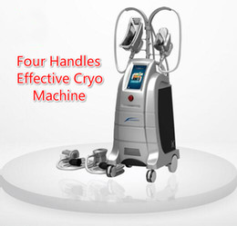 $enCountryForm.capitalKeyWord Canada - Hot Sale !!! Four Handles Effective Cryo Machine Cryo Body Sculpting Fat Freezing Vacuum Cryotherapy Slimming Equipment For Salon Use
