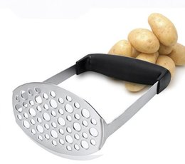 Chinese  Potato Masher Stainless Steel Smooth Mashed Potatoes Sweet Potato Making Tools Fruit Vegetable Kitchen Tool manufacturers