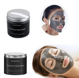 Face Mask Clean Pores Australia - Dead Sea Black Mud Mask Deep Cleaning Hydrating Acne Blemish Lightening Moisturizer Nourishing Pore Cleaner Face Mask DHL