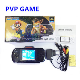 4.3 portable game console online shopping - Game Player PVP Station Light Bit Inch LCD Screen PVP3000 Handheld Video Game Player Console Mini Portable Game Box