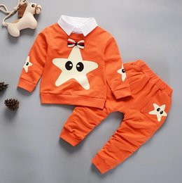 Опт 2018 весна новая корейская версия детский костюм хлопок мальчик костюм ребенка с длинным рукавом костюм