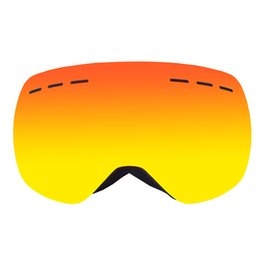 Frame Goggles Ski UK - Double Layers Lens Full Frame Ski Goggles Winter Snow Snowboard Goggles Anti-fog UV400 Men Women Snowmobile Skiing Skating Mask