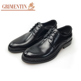 $enCountryForm.capitalKeyWord NZ - GRIMENTIN Italian fashion mens oxfords shoes genuine leather lace-up mens dress shoes hot sale black formal business office male shoes