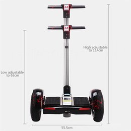 10inch Smart Electric Scooter Balance Автомобильный скейтборд Two Wheels Drift Self Hover Board Cool Custom Made Drop Доставка